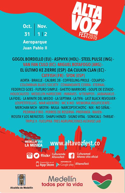 Afiche Oficial Altavoz 2015
