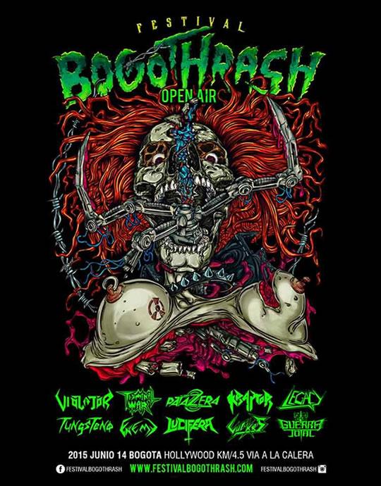 Afiche Bogothrash 2015