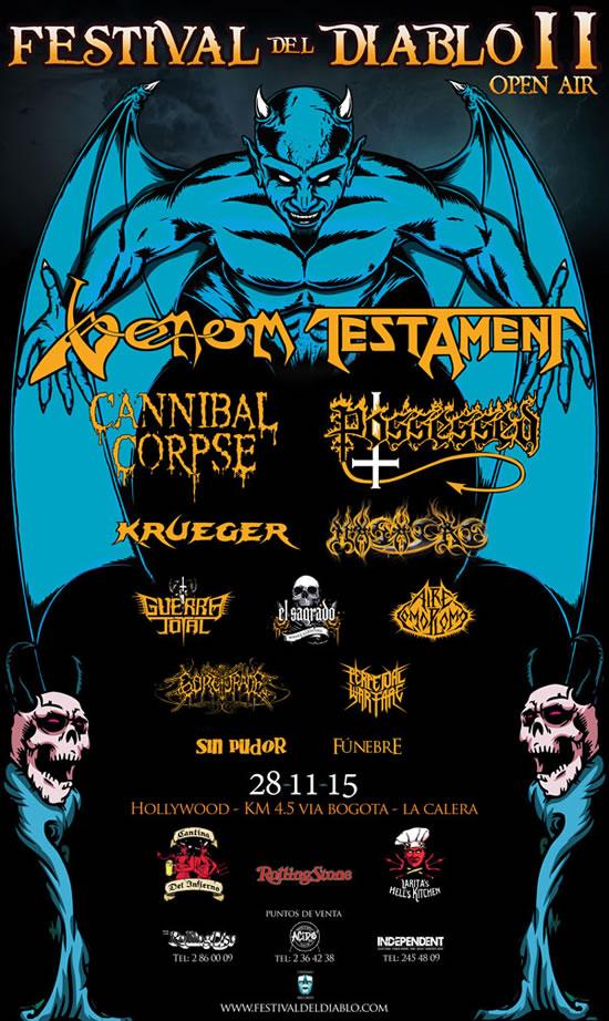 Afiche Festival del Diablo