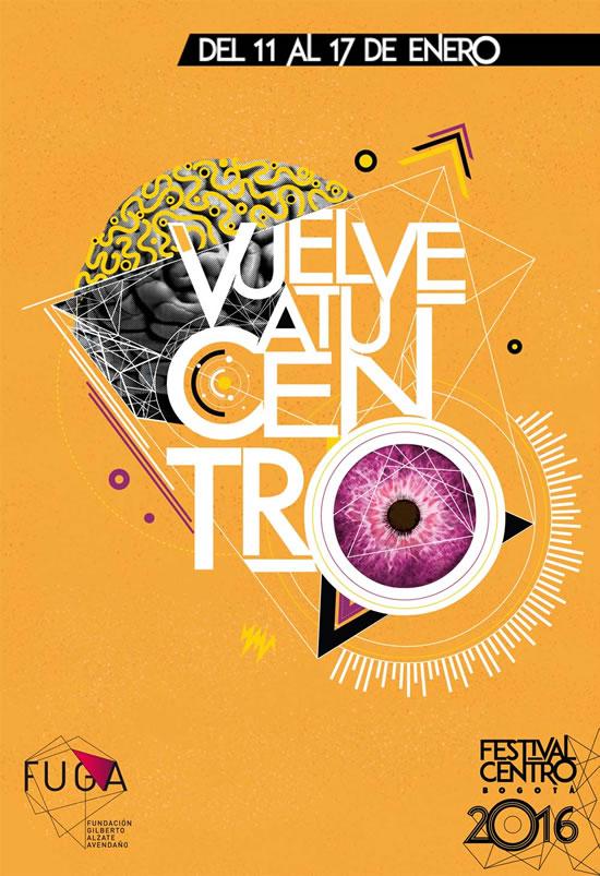 Afiche Festival Centro 2016