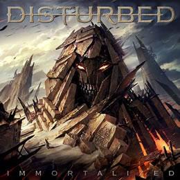 """Caratula """"Immortalized"""", el nuevo disco de Disturbed"""