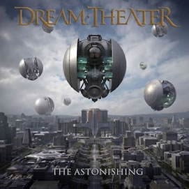 "Carátula de ""The Astonishing"" de Dream Theater"