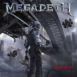 """Esta es la carátula de """"Dystopia"""" de Megadeth"""