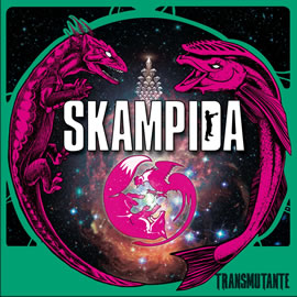 """Carátula de """"Transmutante"""" de Skampida"""