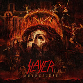 Caratula de Repentless de Slayer