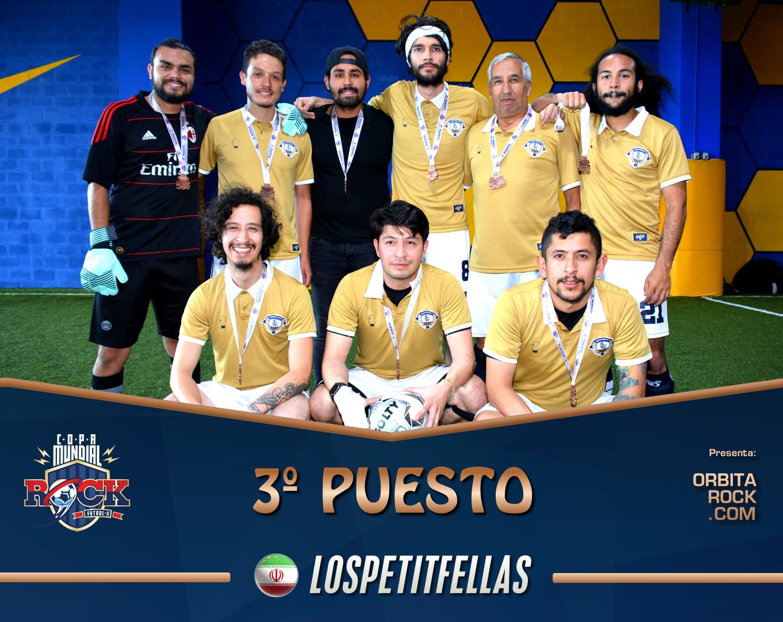 LosPetitfellas quedaron en tercer lugar de la Copa Mundial del Rock 2018