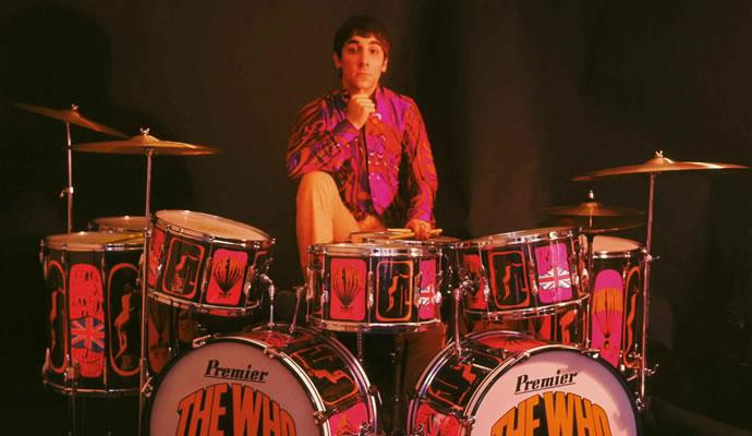 (23/08/1946) Nació Keith Moon de The Who