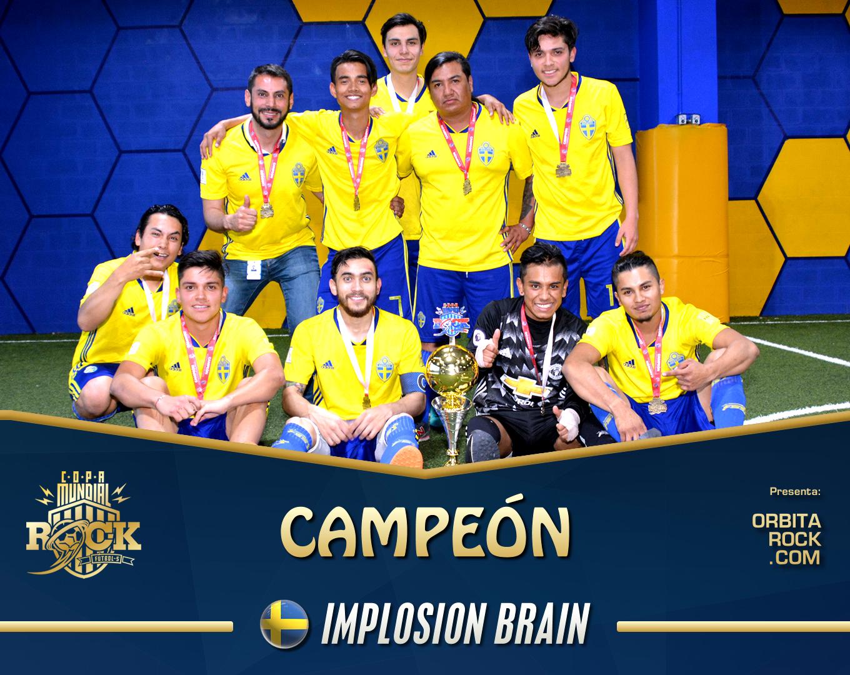 Implosion Brain se coronó campeón de la Copa Mundial del Rock 2018