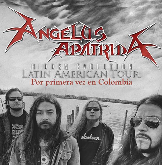 Afiche Angelus Apatrida en Colombia