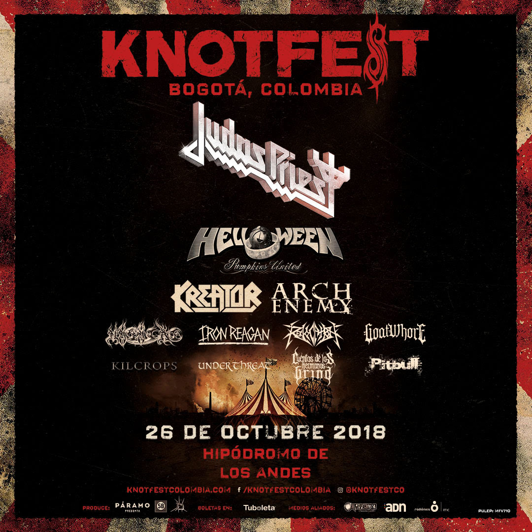 Afiche KnotFest Colombia