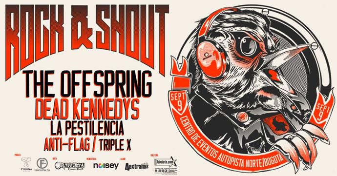 Afiche Oficial Rock & Shout Festival 2016