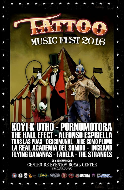 Afiche Tattoo Music Fest 2016