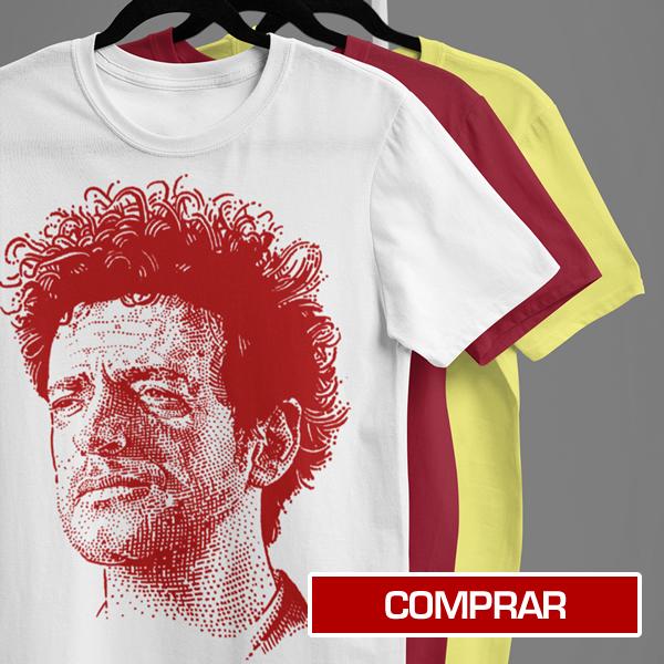 Camiseta edición especial Gustavo Cerati