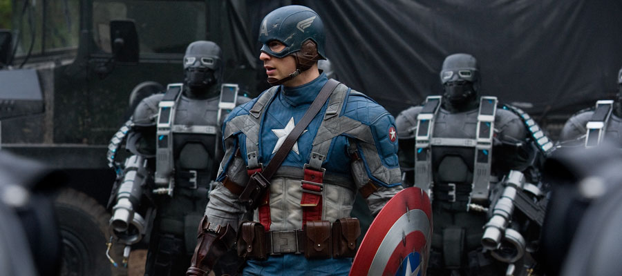 Saga Avengers: Captain America First Avenger (2013)