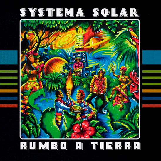 Carátula del nuevo disco de Systema Solar