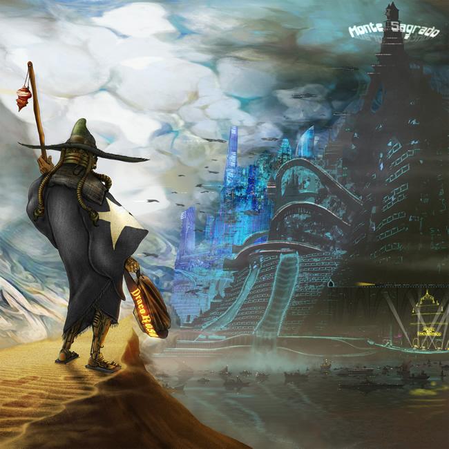 Carátula del disco Monte Sagrado de Draco Rosa