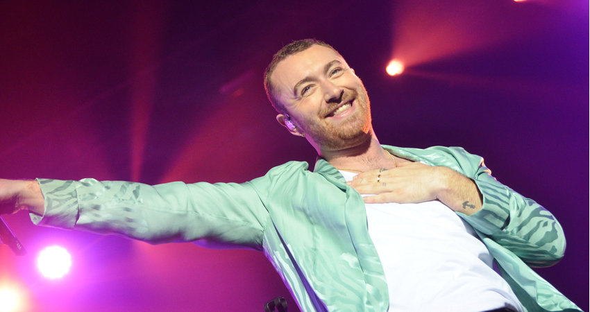 Sam Smith en Estéreo Picinic 2019. PH. Jorge Alvarado