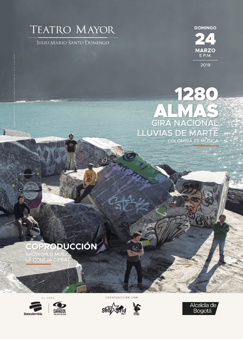 1280 Almas prepara su gira 2019