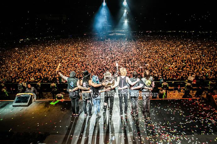 Guns N' Roses en México el 19 de abril de 2016. GunsNRoses.com