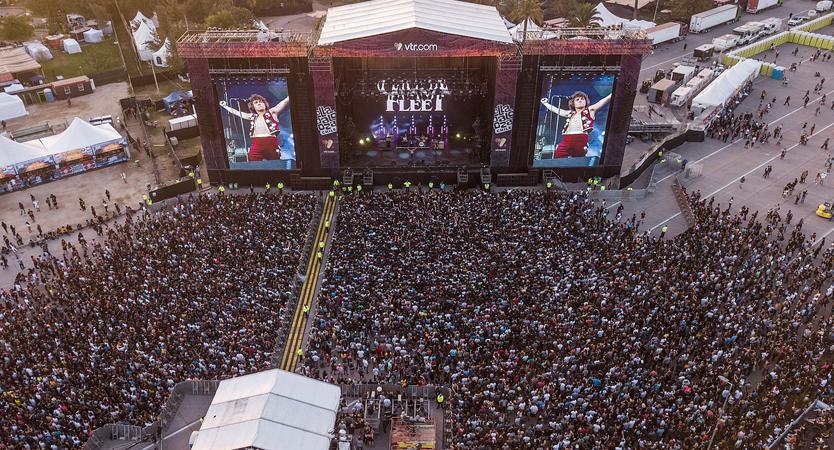 Greta Van Fleet en Lollapalooza Chile 2019