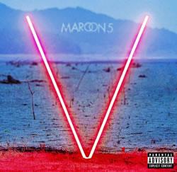"Carátula del disco ""V"" de Maroon 5"