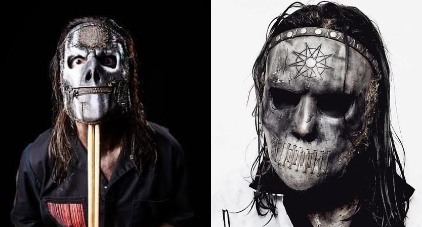 Evolución de máscaras de Jay Weinberg de Slipknot