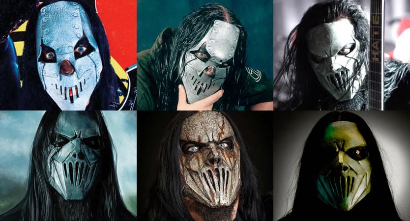 Evolución de máscaras de Mick Thomson de Slipknot