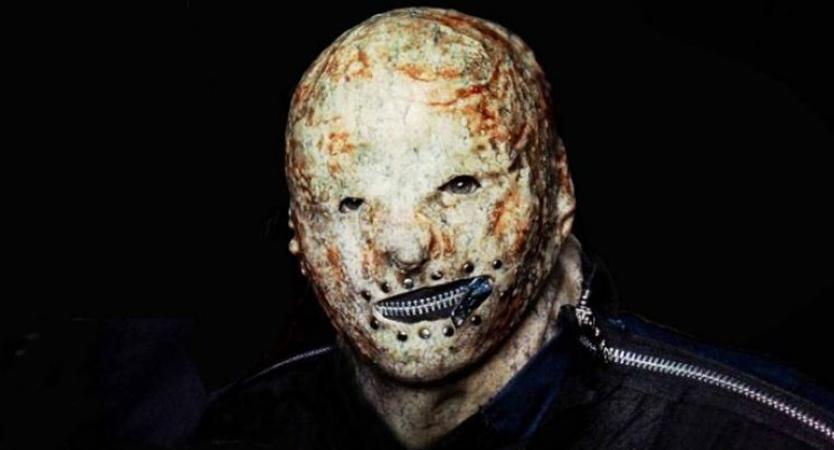 Máscara del nuevo integrante de Slipknot apodado Tortilla Man