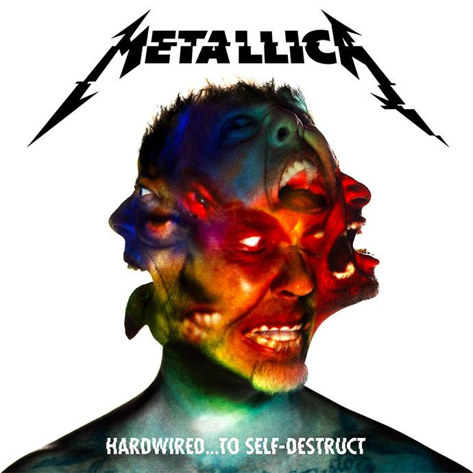 Este es el arte de la carátula del nuevo disco de Metallica