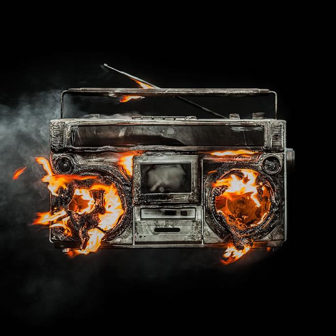 """Este es el arte de la carátula de """"Revolution Radio"""" de Green Day"""