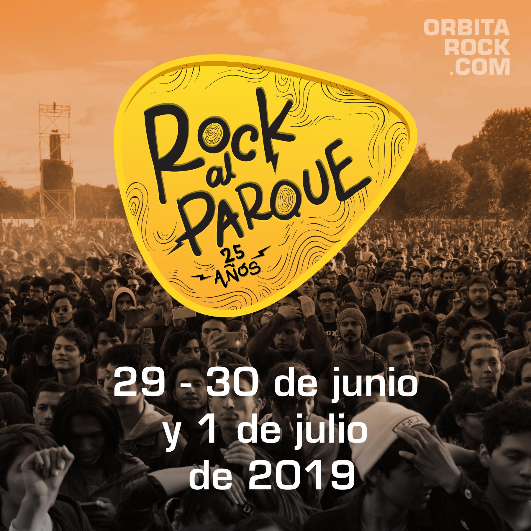 Rock al Parque celebrará sus 25 años en 2019