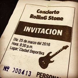 Invitacion a The Rolling Stones en Cuba