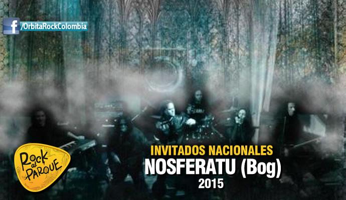 La agrupación bogotana Nosferatu se presentará en Rock al Parque 2015