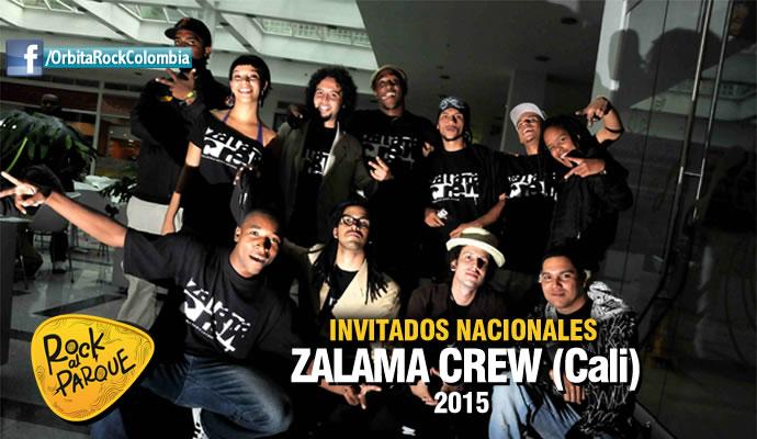 La agrupación caleña Zalama Crew se presentará en Rock al Parque 2015
