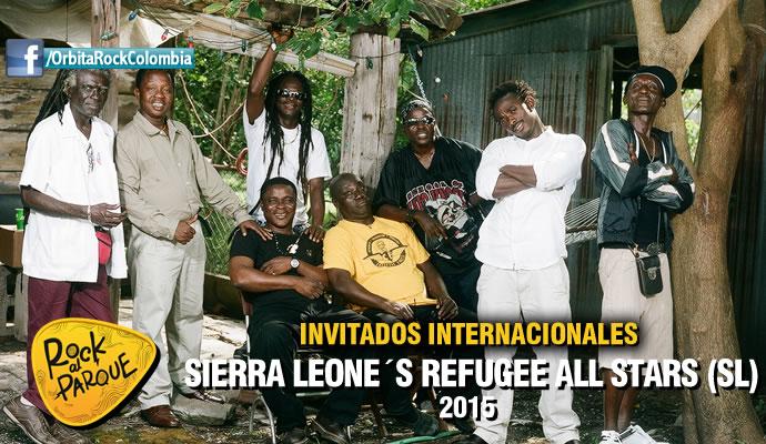 La agrupación africana Sierra Leone's Refugee All Stars se presentará en Rock al Parque 2015