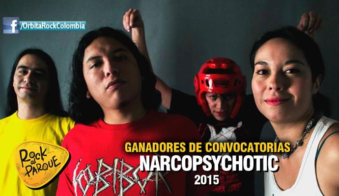 La agrupación bogotana Narcopsychotic se presentará en Rock al Parque 2015