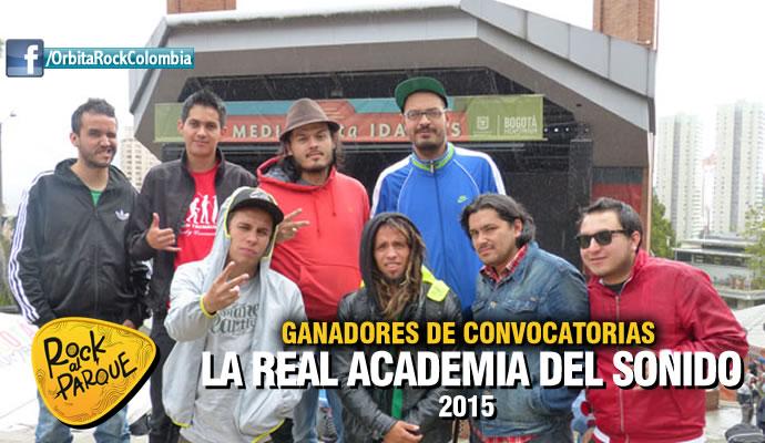 La Real Academia del Sonido tocará en Rock al Parque 2015