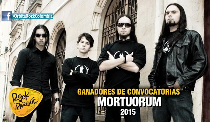 Mortuorum estará tocando en Rock al Parque 2015