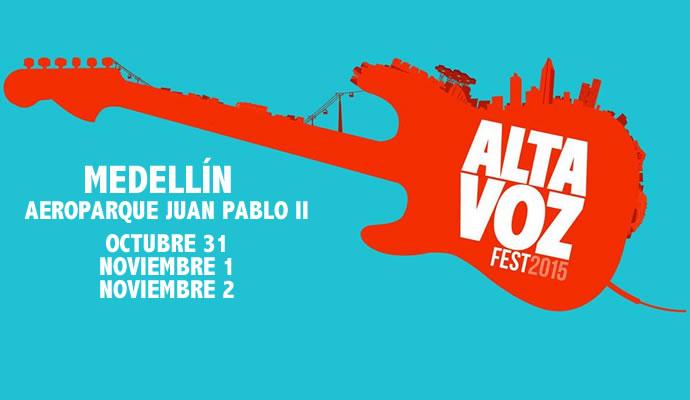 El Altavoz Fest 2015 se realizará de octubre 31 a noviembre 2