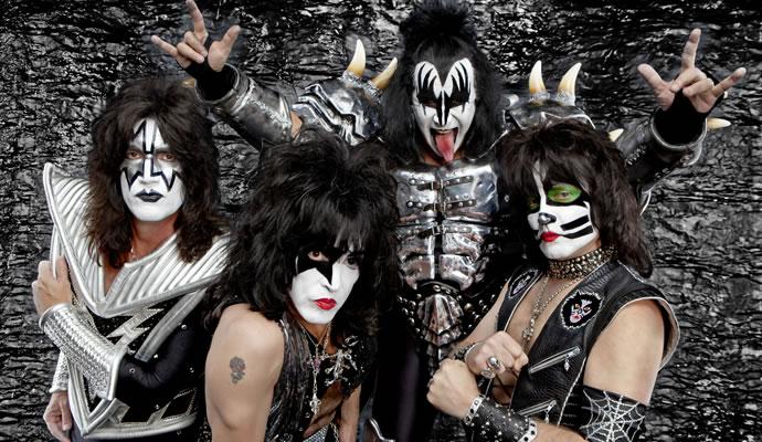 Kiss estará en Colombia en abril de 2015