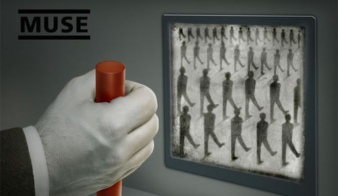 """Esta es la carátula de """"Drones"""", nuevo disco de Muse"""