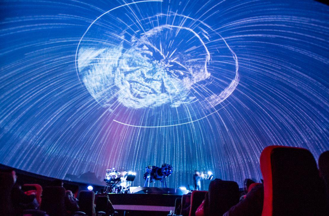 Domo Lleno se toma el Planetario de Bogotá
