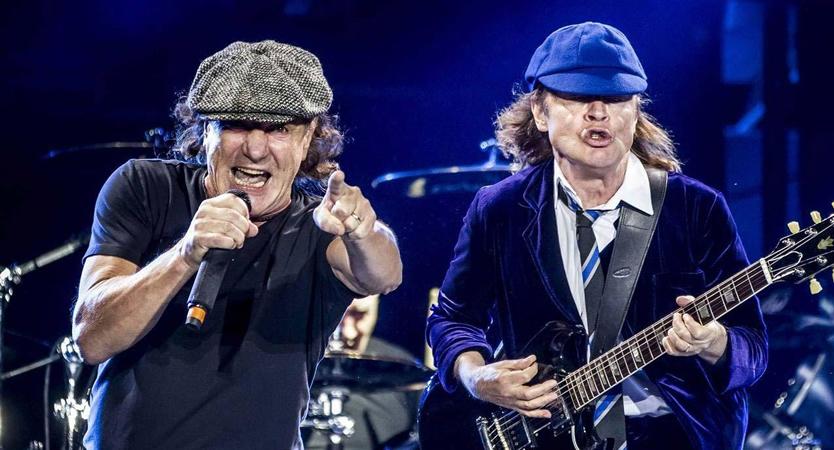 Brian Johnson regresa a AC/DC y podría participar en nueva gira