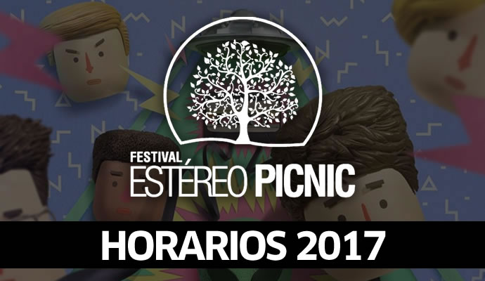 Horarios del festival Estéreo Picnic 2017