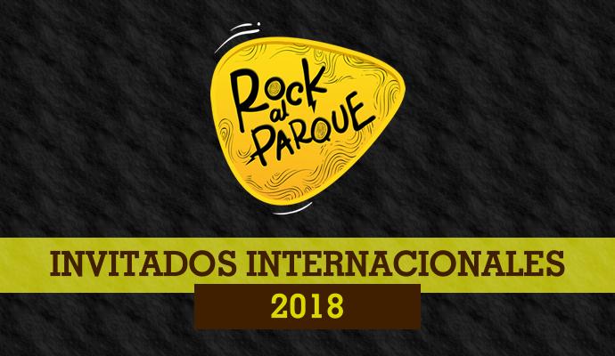 Primer anuncio de invitados internacionales a Rock al Parque 2018