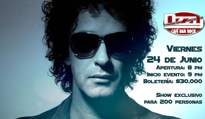 El 24 de junio, gran Tributo a Gustavo Cerati por figuras del rock colombiano