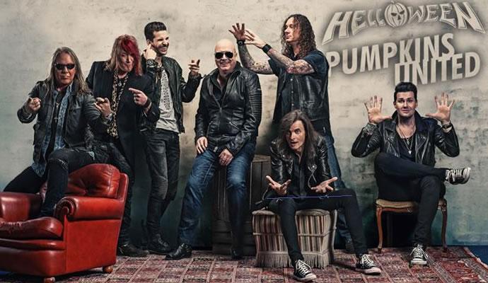 Helloween regresa a Colombia en octubre de 2017