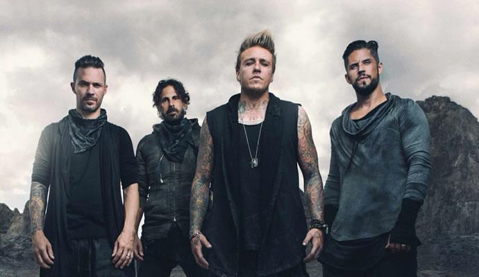 Papa Roach se presentará el 6 de diciembre en Bogotá