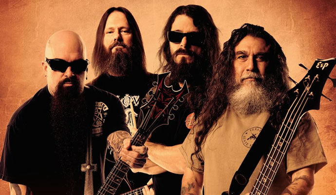 Slayer estará en Colombia por tercera vez