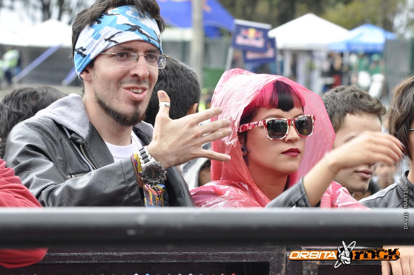 Público Segundo Día en Rock al Parque 2015